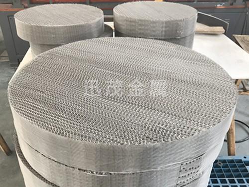 不锈钢丝网规整填料